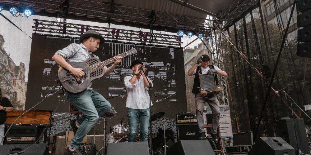 Koncert kapely Dobré ráno blues band zrušen