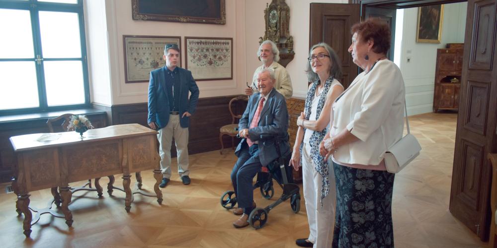 Potomci rodu Žerotínů navštívili Valašské Meziříčí