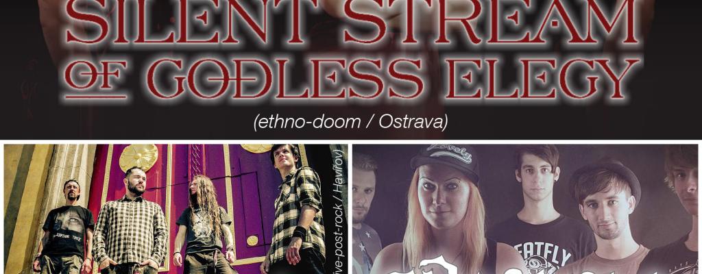 Metal zavládne M-klubem, přijedou Silent Stream of Godless Elegy, Eponine i Postcards from Arkham