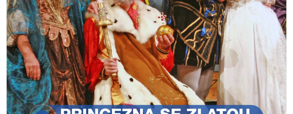 Děti přivítá Princezna se zlatou hvězdou