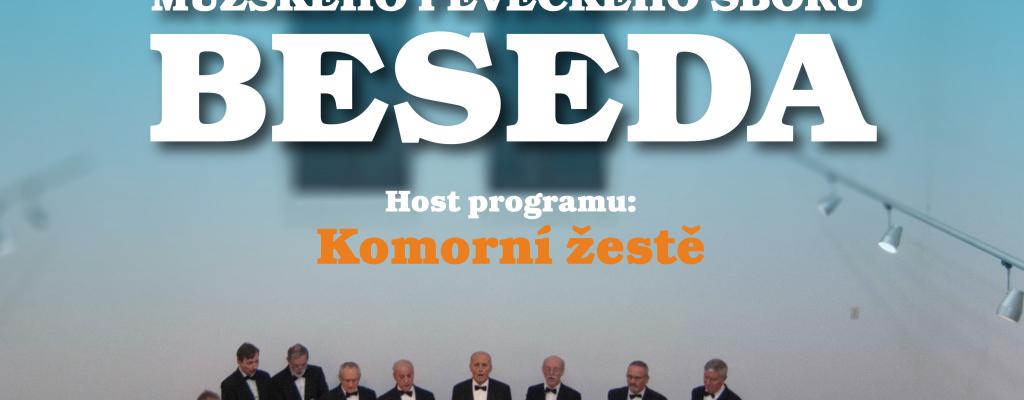 Mužský pěvecký sbor Beseda přivítá jaro koncertem