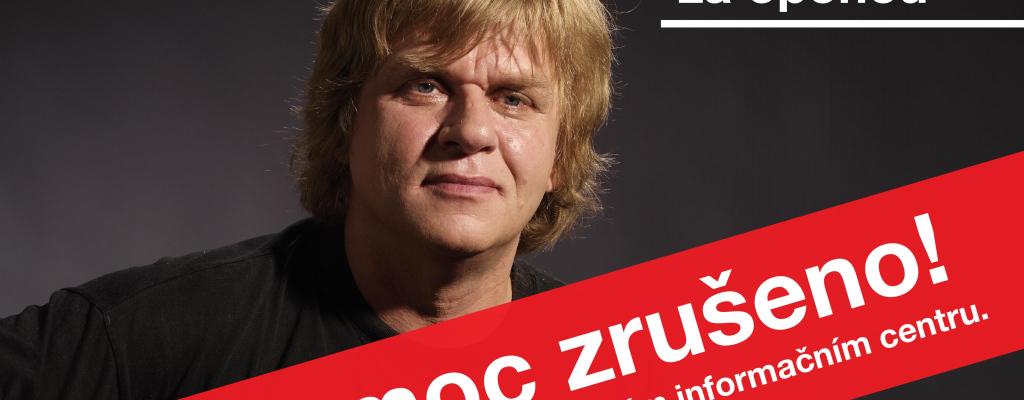 Meziříčský koncert Karla Plíhala je zrušen