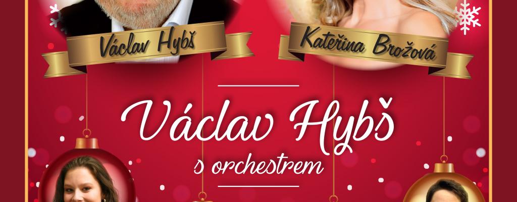 Poslední vánoční turné Václava Hybše