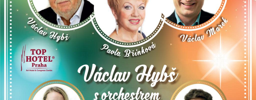 Vánoční koncert Václava Hybše s Pavlou Břínkovou