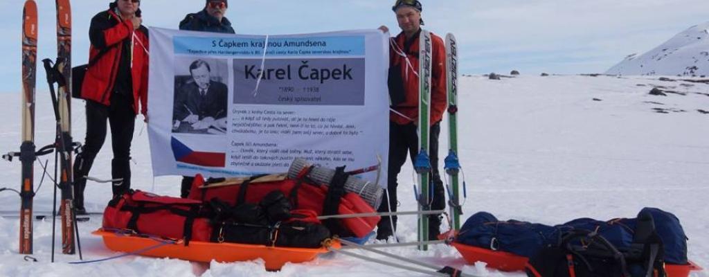 S Čapkem a M-klubem krajinou Amundsena