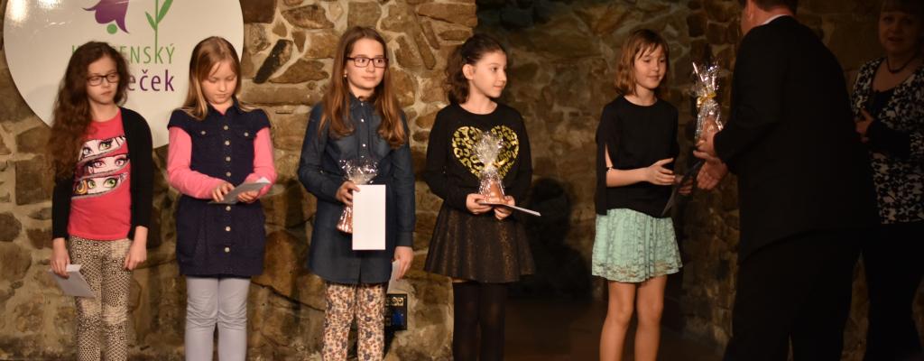 Děti z meziříčských škol bojovaly o Krásenský zvoneček