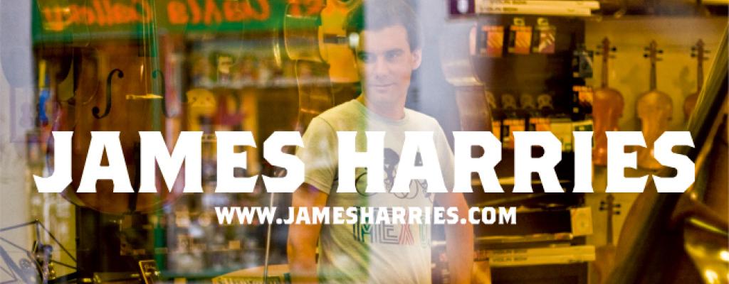 Skladby nahrané na mobil představí James Harries v M-klubu