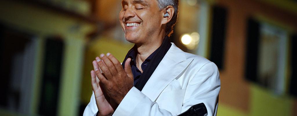 Kino Svět nabídne Andrea Bocelliho
