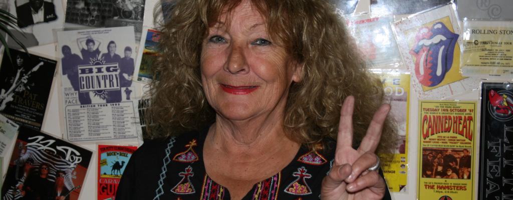 Skotská královna blues Maggie Bell i legendární textař Pete Brown na Valašském špalíčku