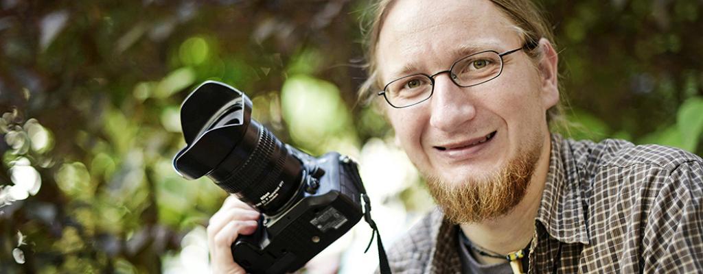 Fotograf a cestovatel Pavel Svoboda ve Valašském Meziříčí