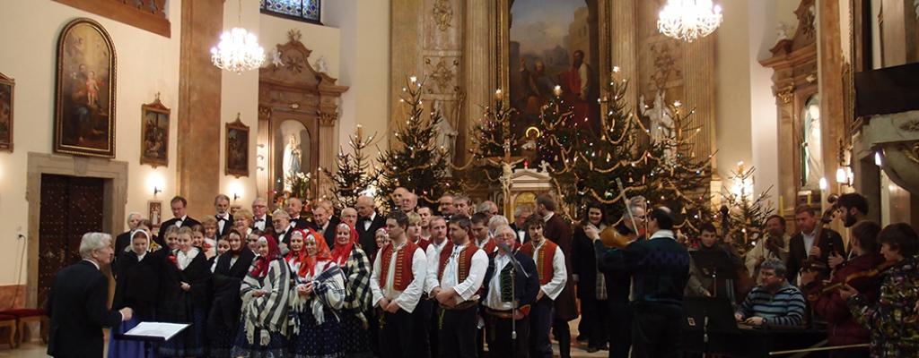 Meziříčské sbory zpívaly v Kelči