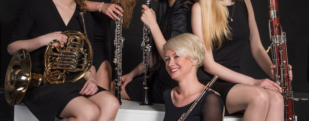 Dámské dechové kvinteto zahraje v Kázetku