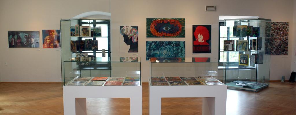 Výstava Psychedelia ve Valašském Meziříčí se blíží k závěru