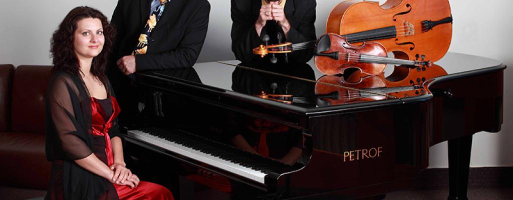 Petrof Piano Trio představí spojení houslí, klavíru a violoncella
