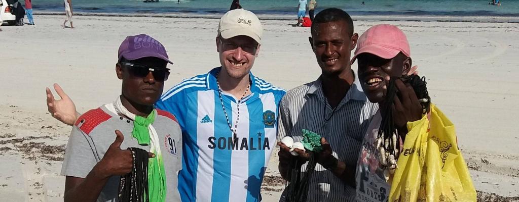 S Peterem Gregorem na skok do Somálska