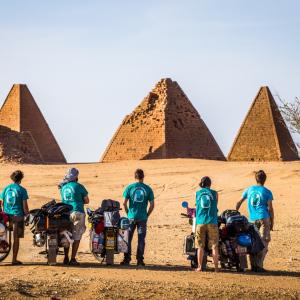 Afrikou na Pionýru
