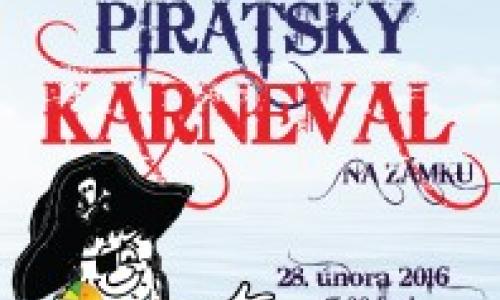 Pirátský karneval na zámku.