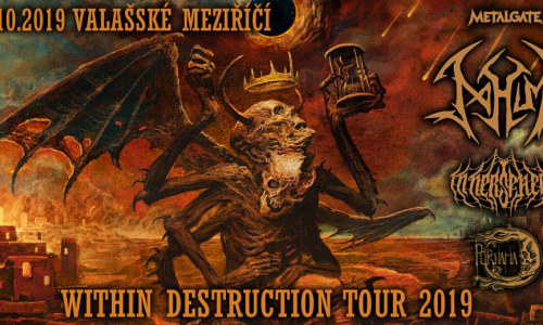 Within Destruction Tour 2019 + Valmez 2019