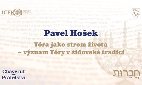 Pavel Hošek - Význam šabatu v rabínském judaismu