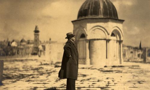 Výstava Masaryk a svatá země v MAGC