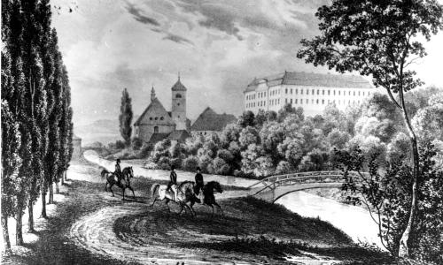Z dějin zámku Žerotínů anebo dokument Muzejního a galerijního centra