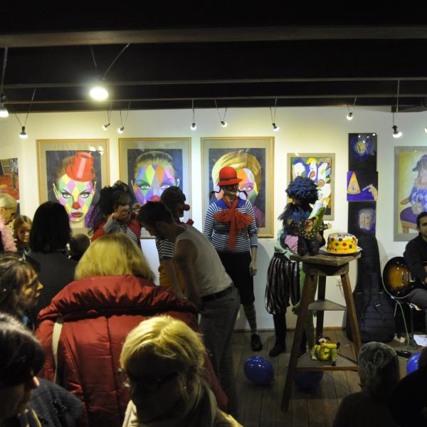 21-11-2012 Vernisáž ZUŠ Cirkus Svět