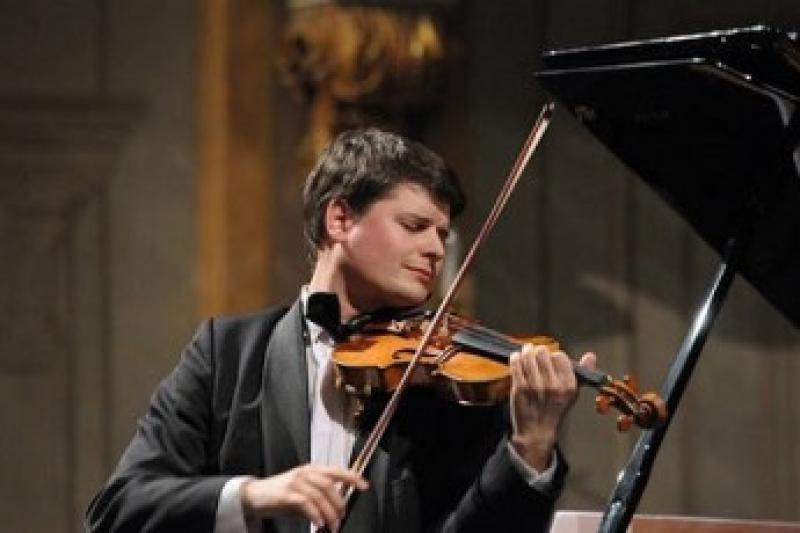Roman PATOČKA- housle, Filip DVOŘÁK- cemballo