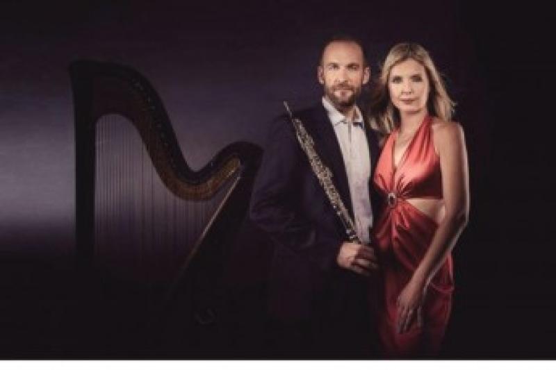 Kateřina ENGLICHOVÁ - harfa, Vilém VEVERKA - hoboj