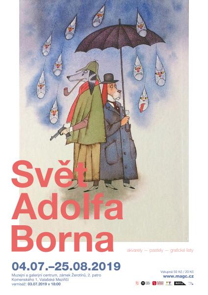 Svět Adolfa Borna