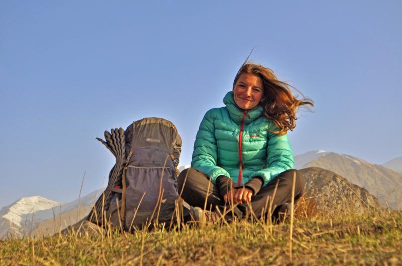 Pěšky přes Kavkaz od moře kmoři