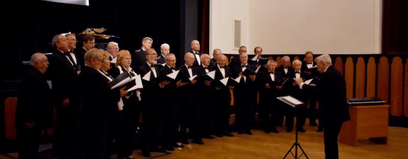 Podzimní koncert Mužského pěveckého sboru Beseda