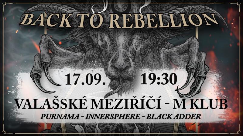 Back to Rebellion tour