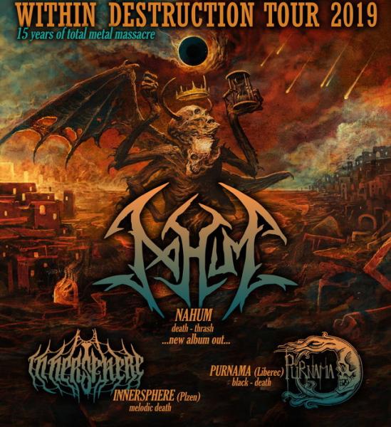 Within Destruction Tour 2019