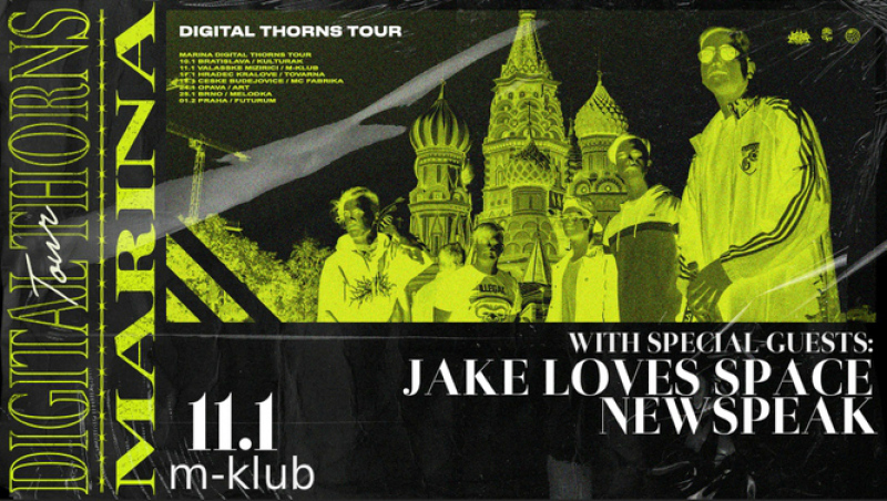 Zrušeno! – Digital Thorns Tour