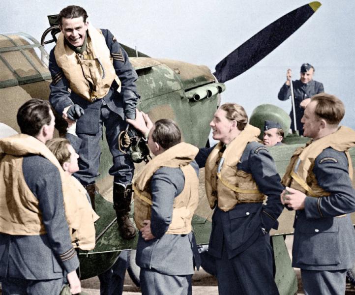 Českoslovenští letci v RAF 1940-1945