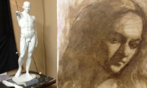 Výstava výtvarného oboru ZUŠ Alfréda Radoka ve Valašském Meziříčí