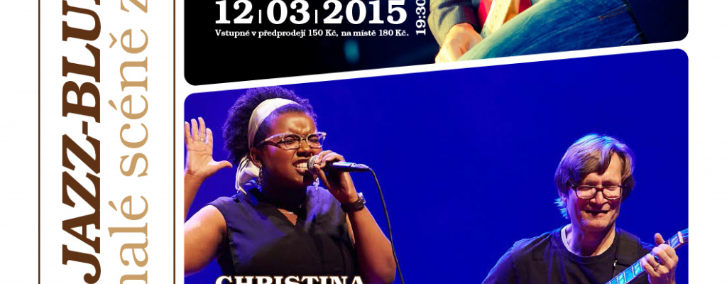 Jarní jazz-bluesové dny na Malé scéně za oponou: Vystoupí Aynsley Lister i Christina Prindle a Rudy Linka