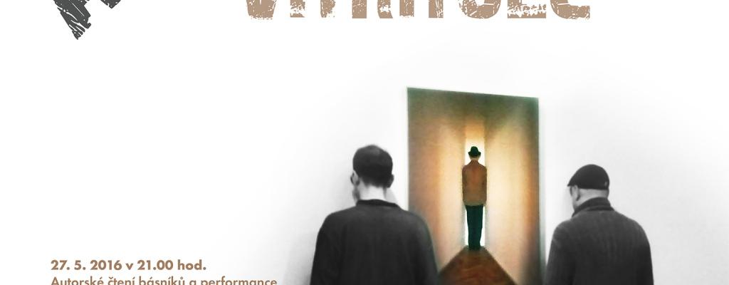 Poetický večer v galerii Kaple během Meziříčské muzejní noci s aktéry skupiny Vítrholc a komentovaná prohlídka výstavy s Františkem Kowolowským
