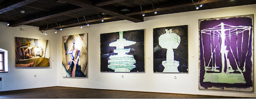 Komentovaná prohlídka s autory výstavy Malby I. FU OU zakončená workshopem Františka Balabána v Galerii Sýpka ve Valašském Meziříčí